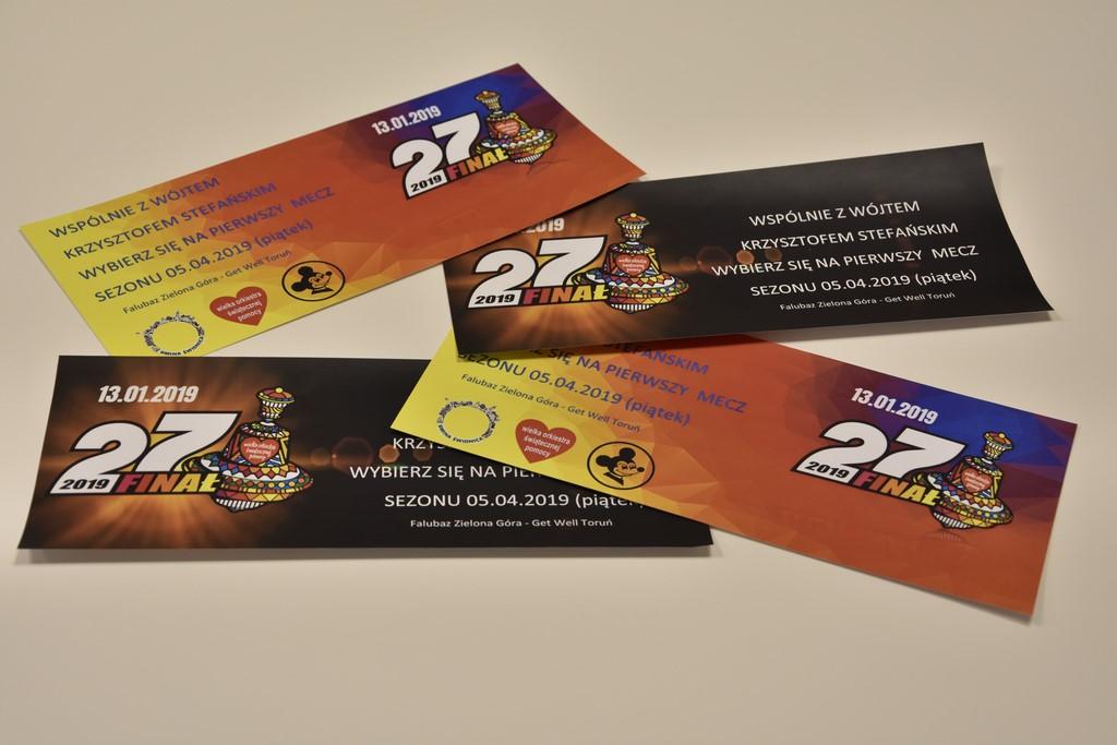 Ilustracja do informacji: Bilety od wójta na licytację