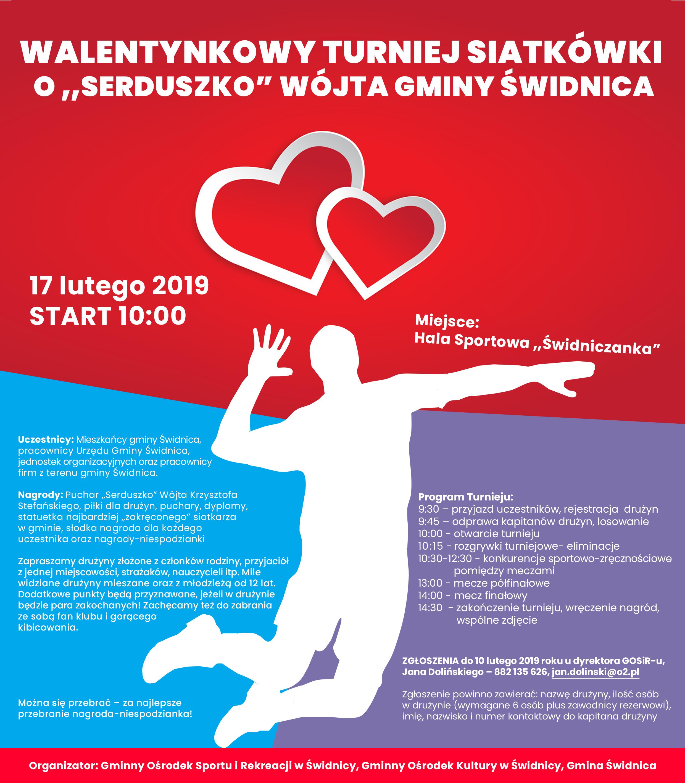 Ilustracja do informacji: Walentynkowy turniej już w niedzielę