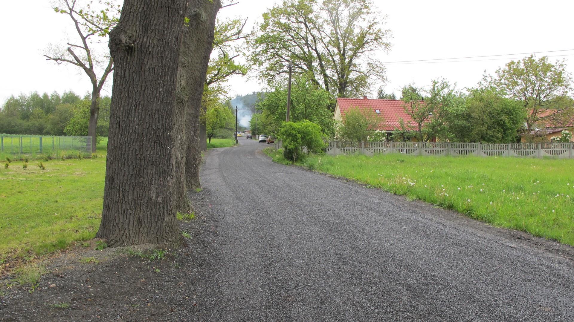 Ilustracja do informacji: Droga w Letnicy oddana do użytku