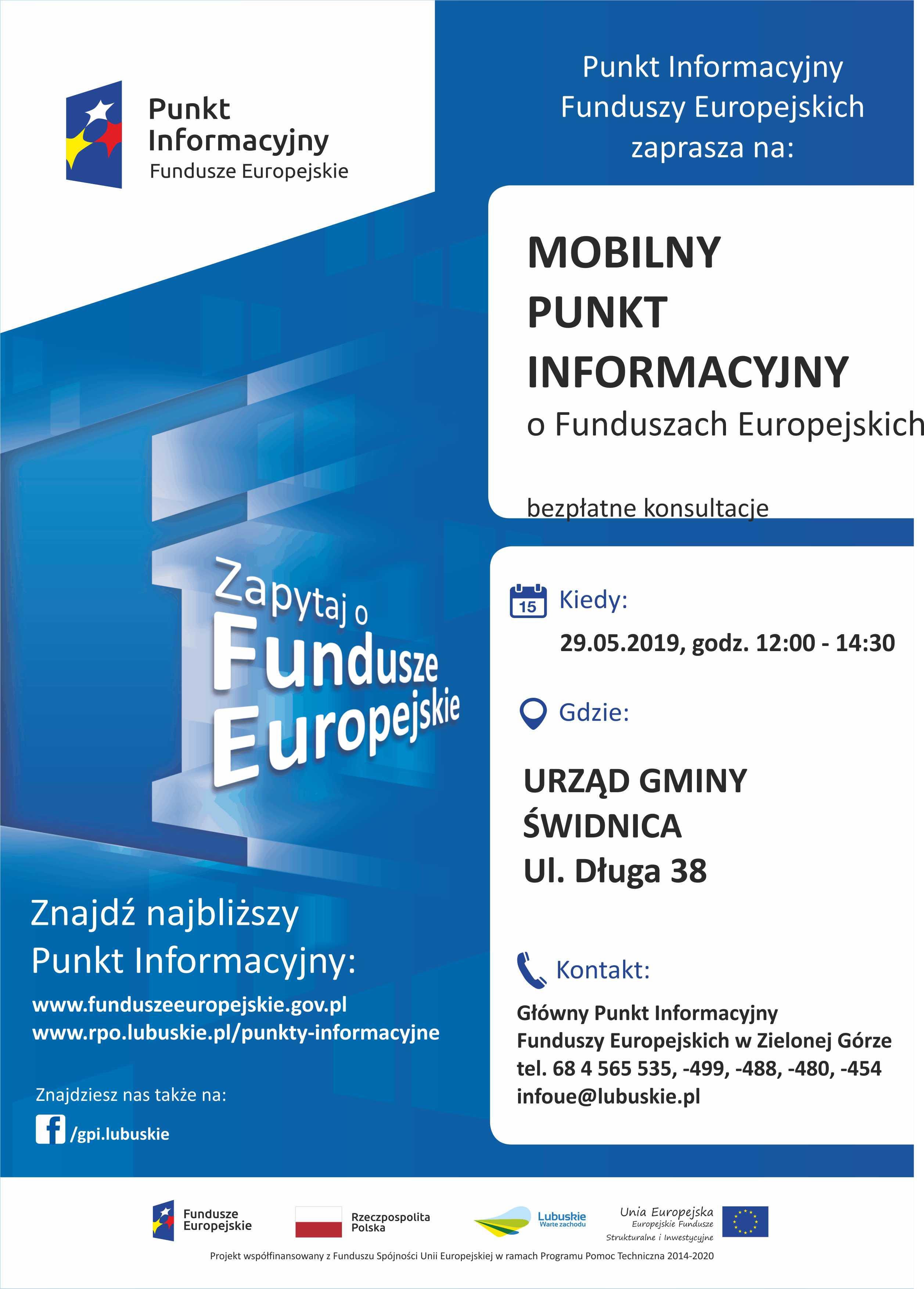Ilustracja do informacji: Mobilny Punkt Informacyjny w Świdnicy