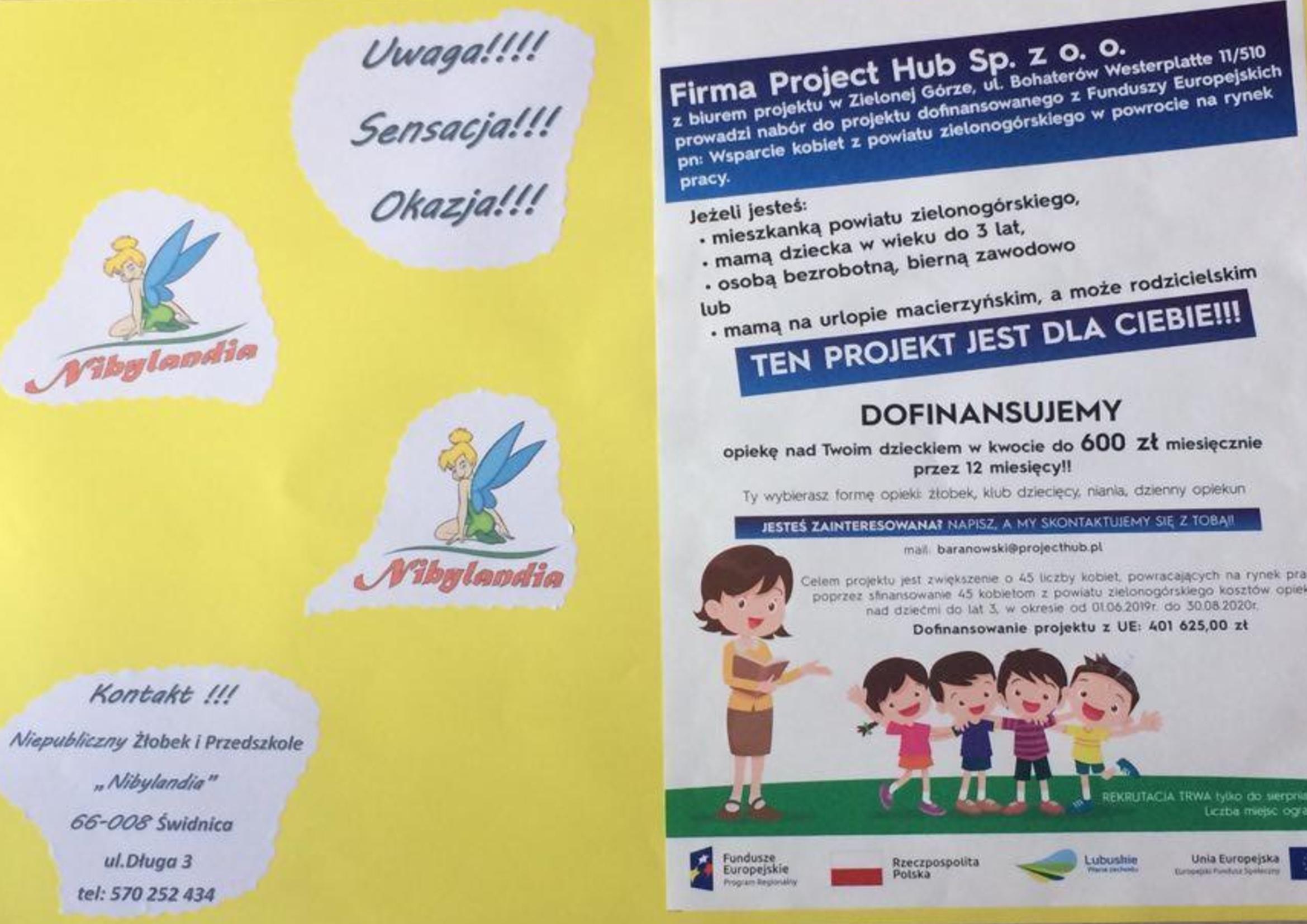 Ilustracja do informacji: Dofinansowanie opieki nad dzieckiem