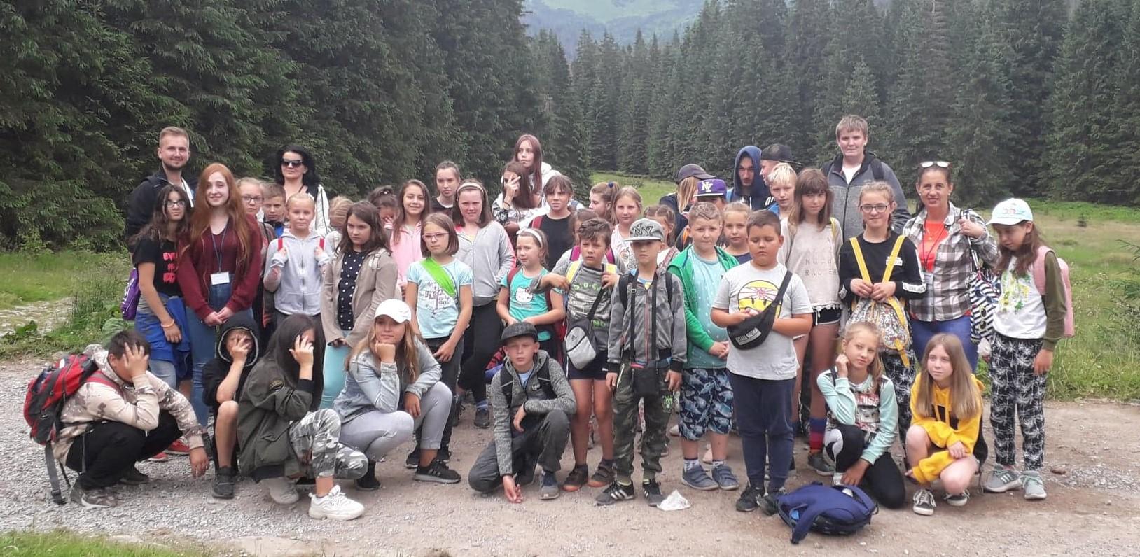 Ilustracja do informacji: Dzieci wróciły z Zakopanego