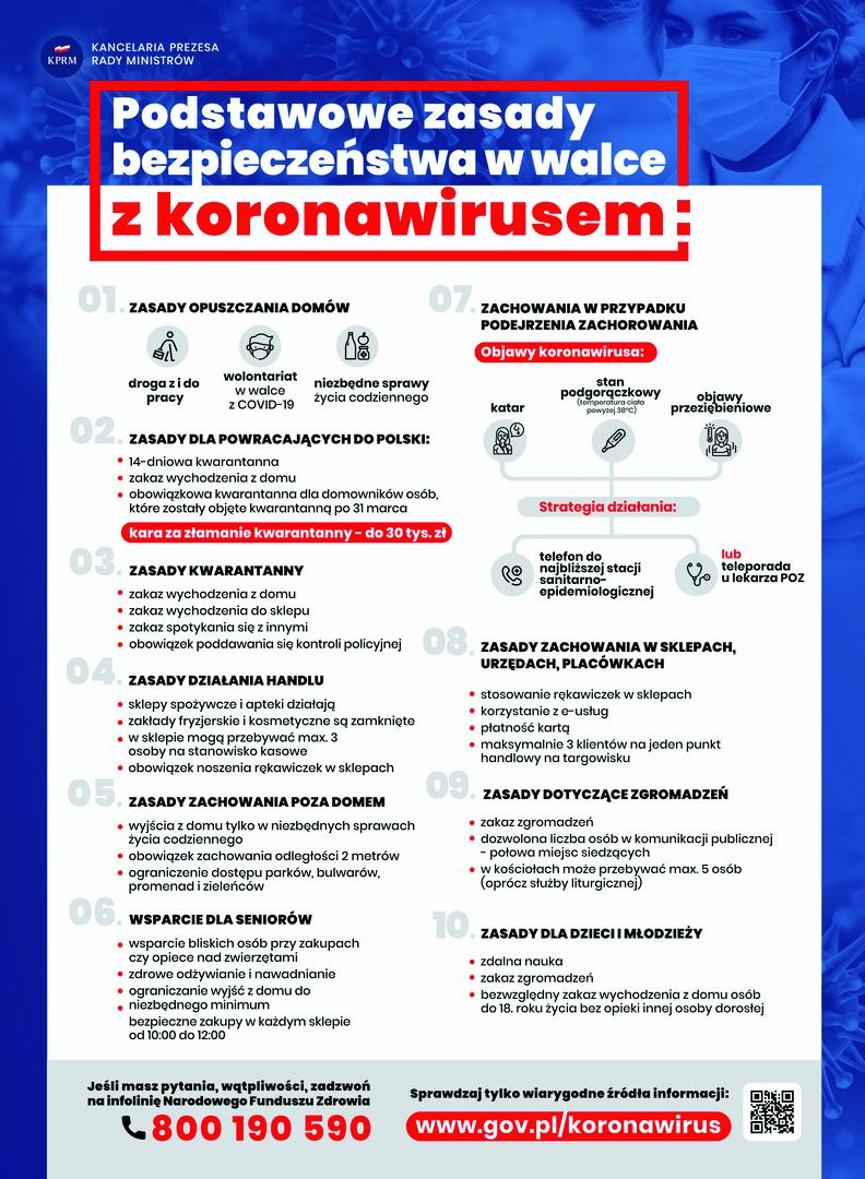 Ilustracja do informacji: Bezpieczne zasady