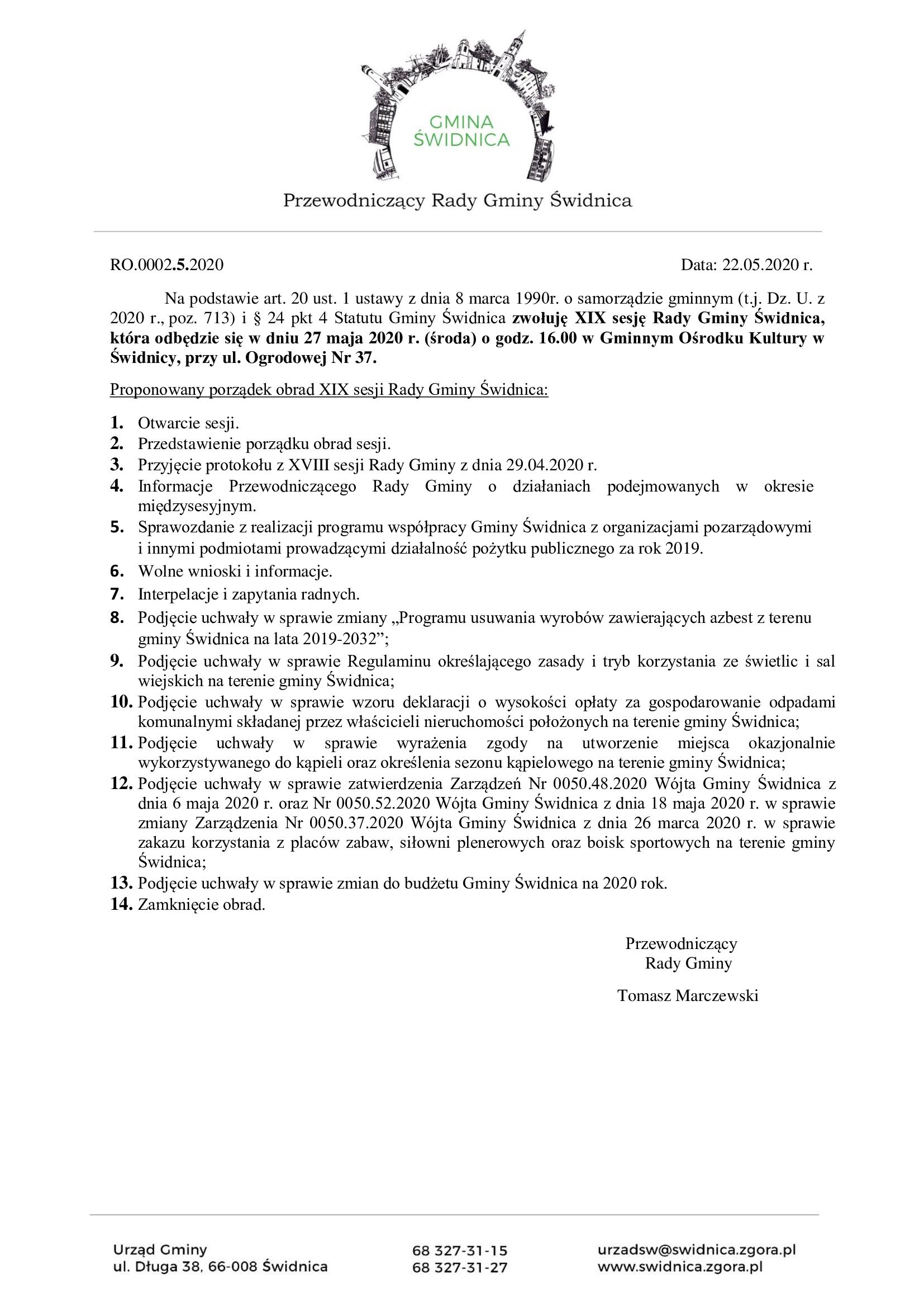 Ilustracja do informacji: Komisja oraz sesja Rady Gminy Świdnica