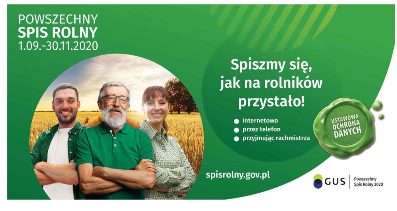 Ilustracja do informacji: Powszechny Spis Rolny rusza 1 września
