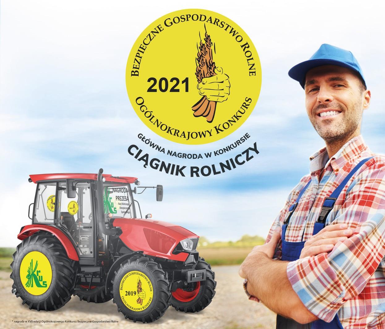 Ilustracja do informacji: XVIII Ogólnokrajowy Konkurs Bezpieczne Gospodarstwo Rolne