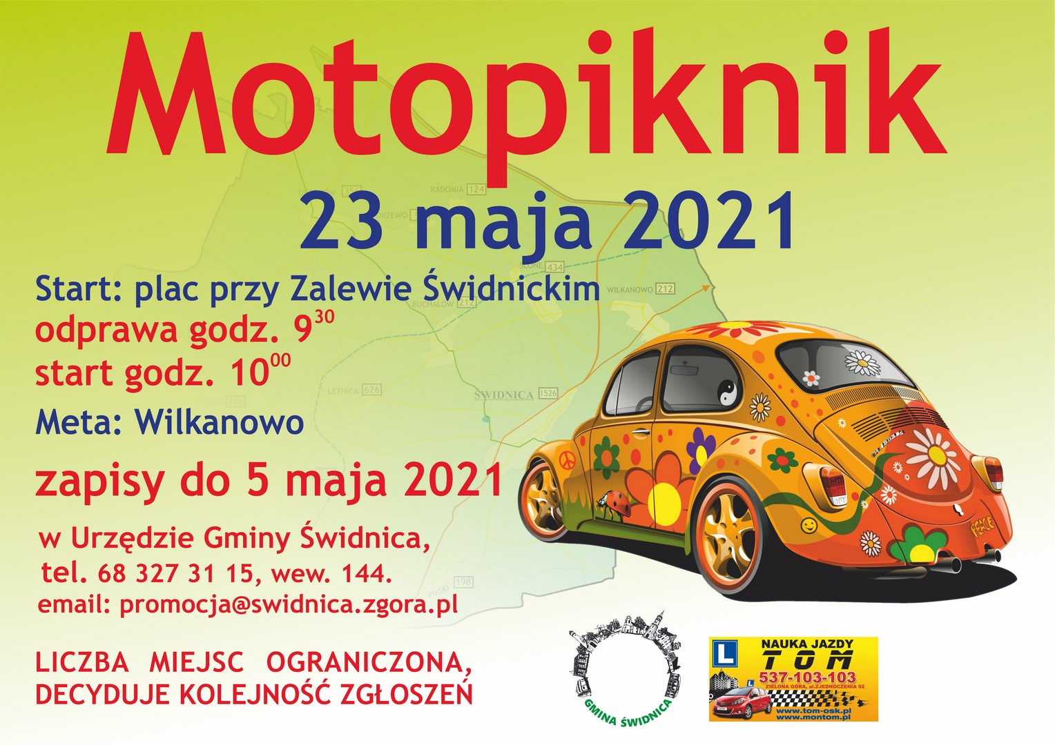 plakat motopiknik 2021