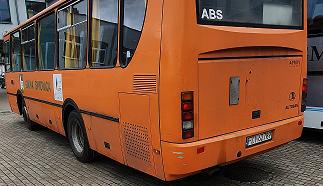 Ilustracja do informacji: Kolejny autobus odzyskany!
