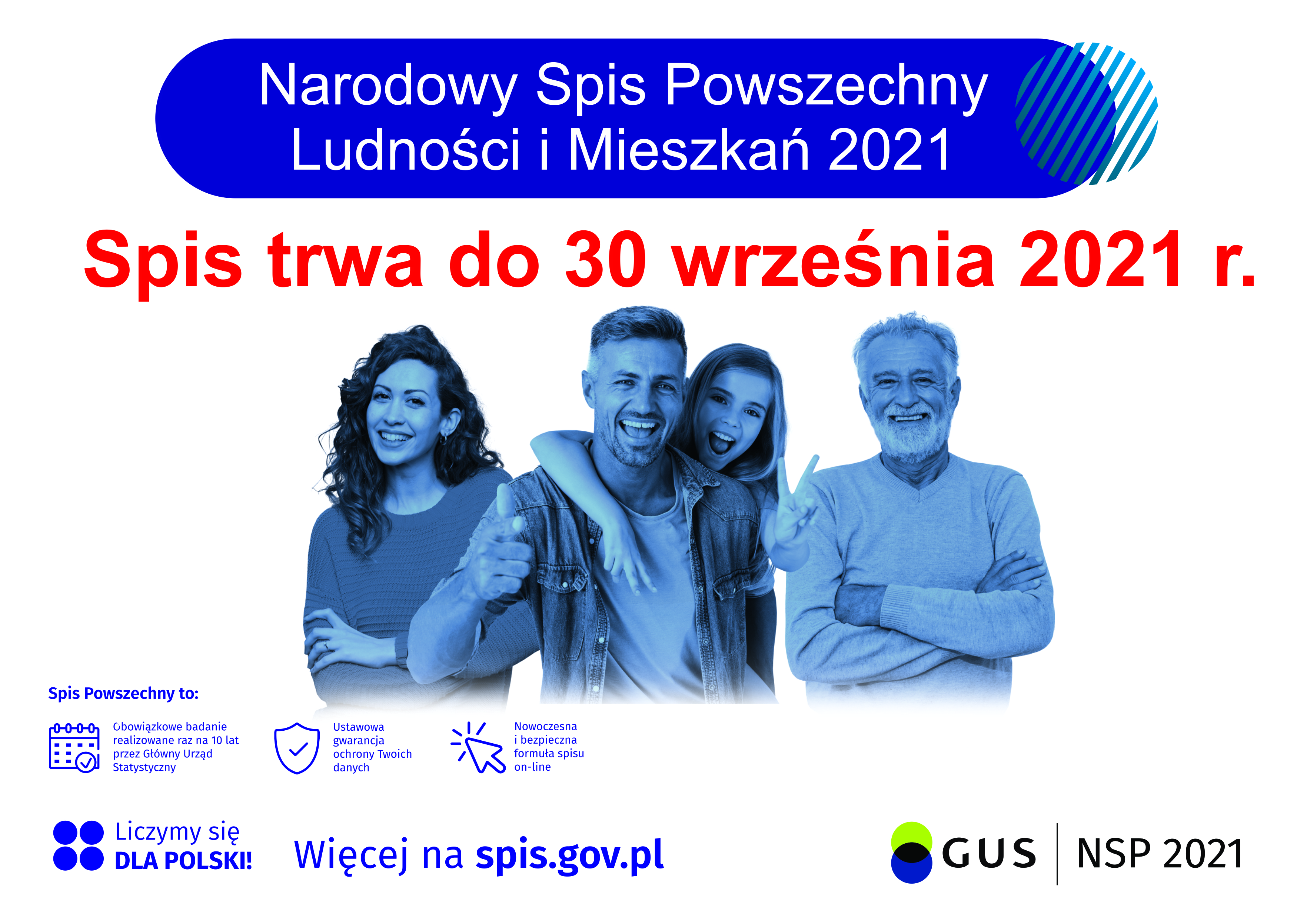 spis powszechny trwa do 30 września 2021 roku