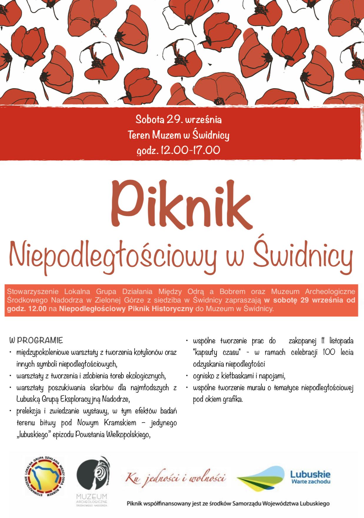 Ilustracja do informacji: Piknik Niepodległościowy w Świdnicy