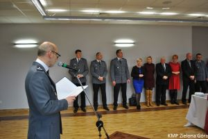 Miniatura zdjęcia: Wigilia w Zielonogórskiej Komendzie Policji